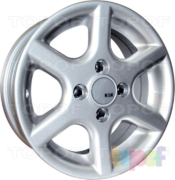 Колесные диски КиК Ариэль 2. Изображение модели #1