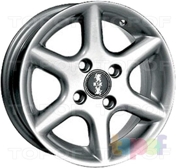 Колесные диски КиК Ариэль 2. Изображение модели #2