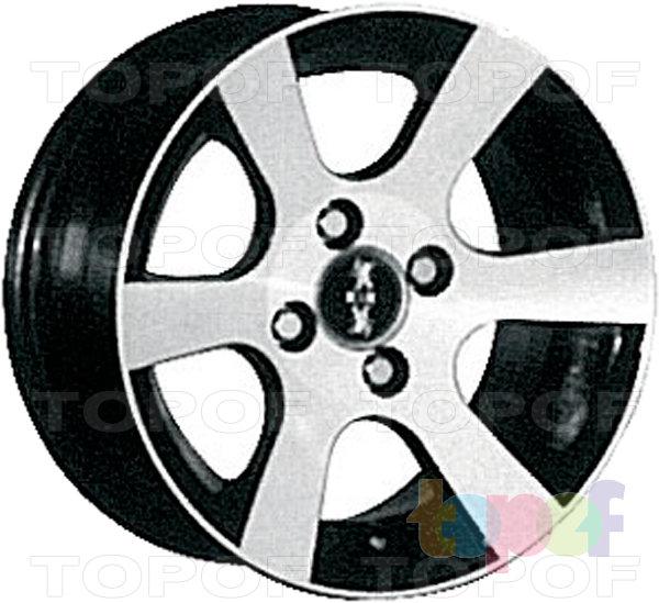 Колесные диски КиК Аркада. Изображение модели #2