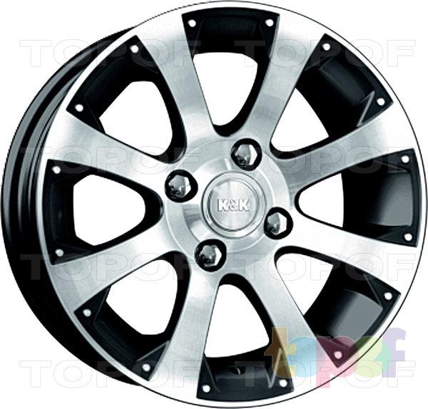 Колесные диски КиК Аркада-Нова. Изображение модели #1