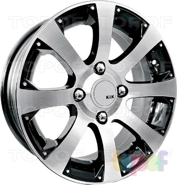 Колесные диски КиК Аркада-Нова. Изображение модели #2