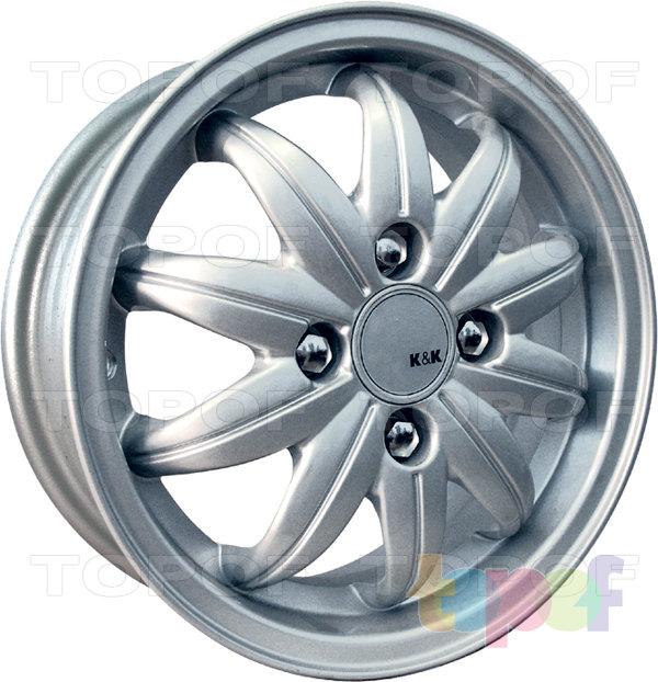 Колесные диски КиК Атолл. Изображение модели #1