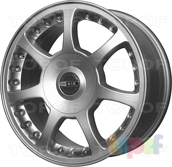 Колесные диски КиК Багира Ринг. Изображение модели #1