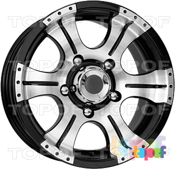 Колесные диски КиК Байконур. Изображение модели #1