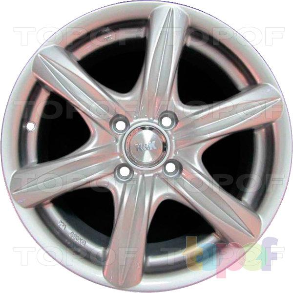 Колесные диски КиК Барс. Изображение модели #1