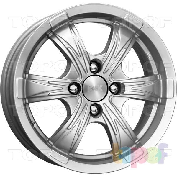Колесные диски КиК Блэйд. Цвет колесного диска - Блэк платинум