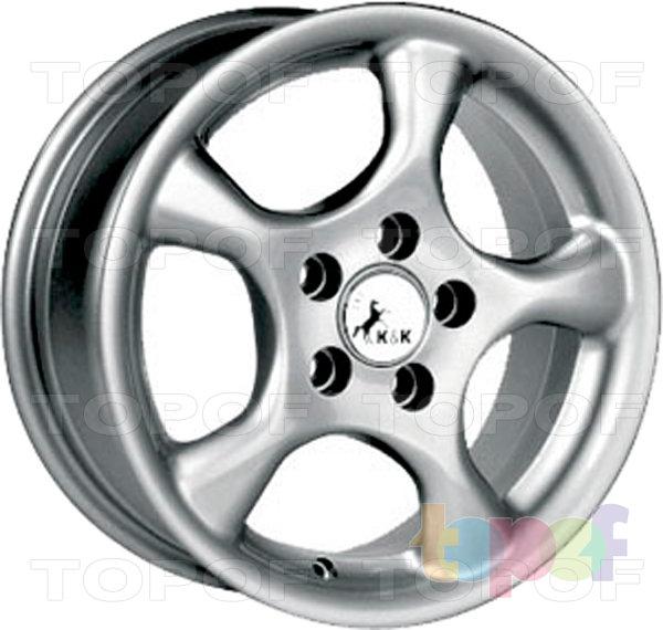 Колесные диски КиК Богема. Изображение модели #2