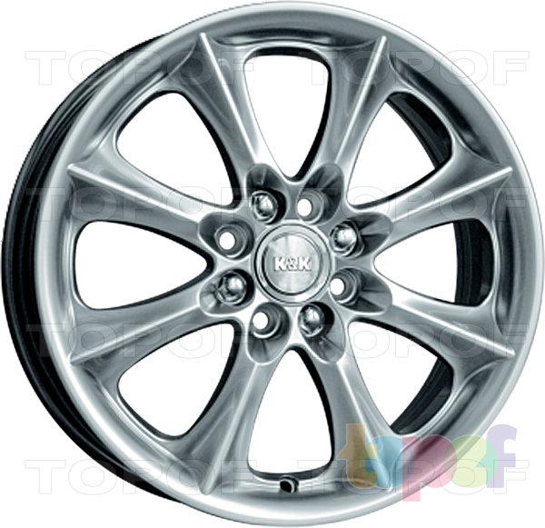 Колесные диски КиК Борус. Изображение модели #2