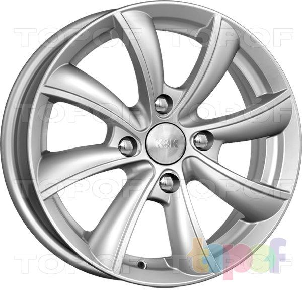 Колесные диски КиК Бриз. Изображение модели #1