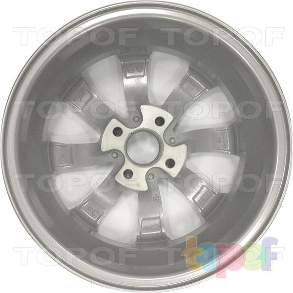 Колесные диски КиК Бриз. Изображение модели #3
