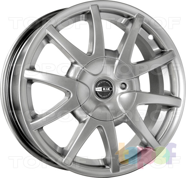 Колесные диски КиК Бумеранг. Изображение модели #2