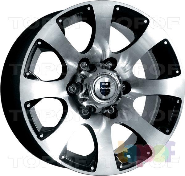 Колесные диски КиК Дакар. Изображение модели #1
