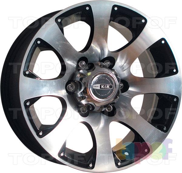 Колесные диски КиК Дакар. Изображение модели #2