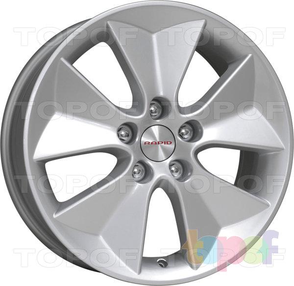 Колесные диски КиК Десерт. Изображение модели #1