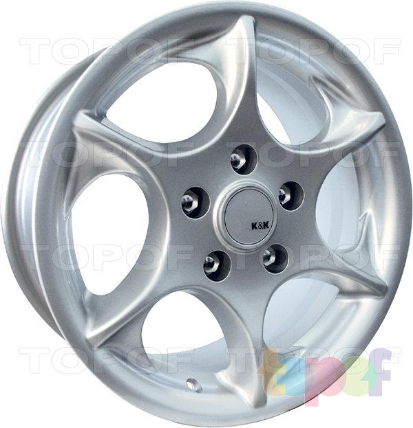 Колесные диски КиК Дракон. Изображение модели #2