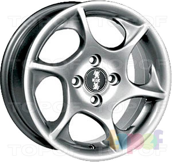 Колесные диски КиК Дракон. Изображение модели #3