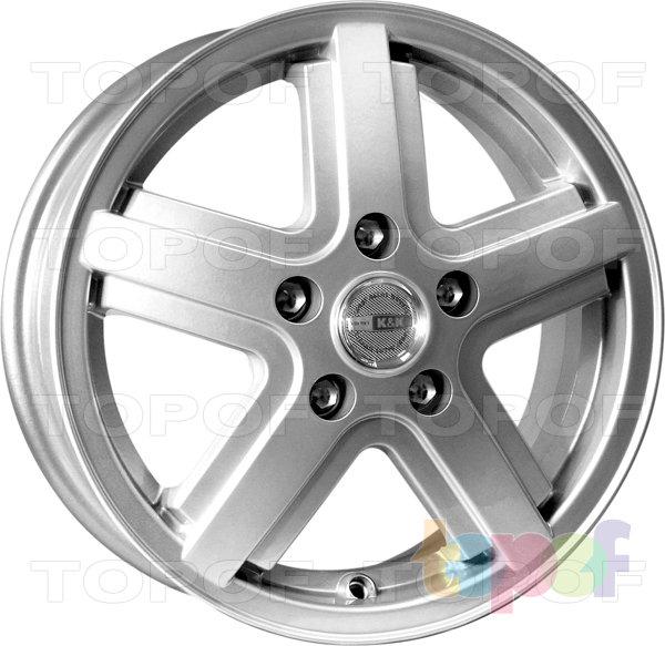 Колесные диски КиК Дуэт. Изображение модели #2
