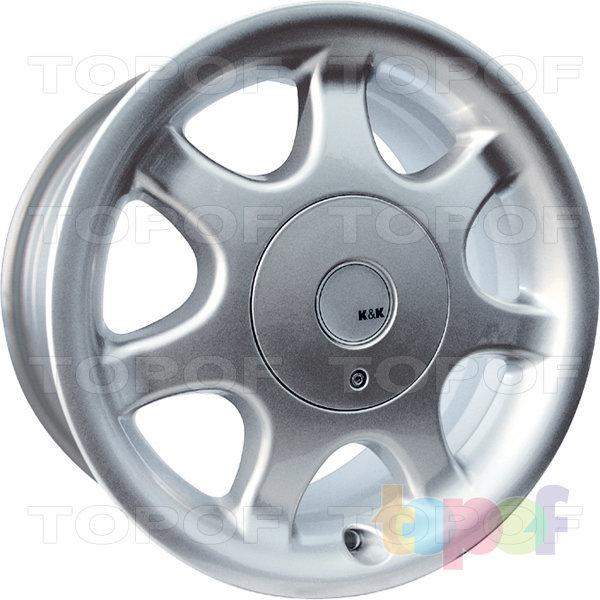 Колесные диски КиК Элита. Изображение модели #1