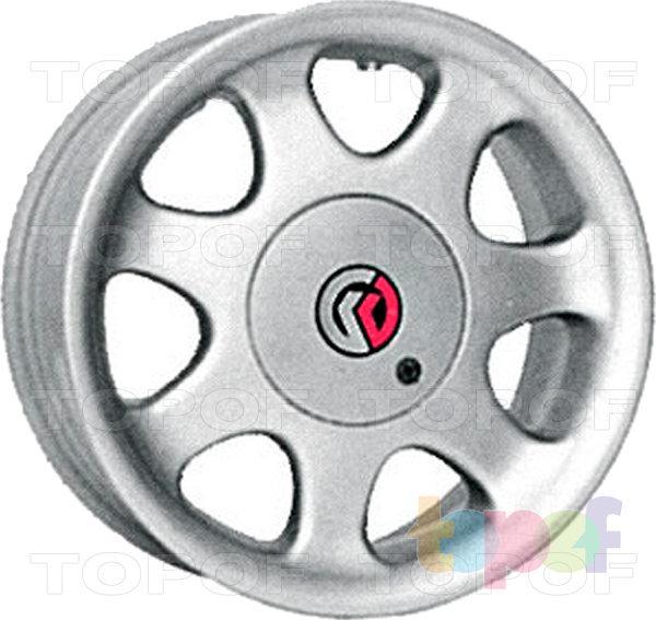 Колесные диски КиК Элита. Изображение модели #2