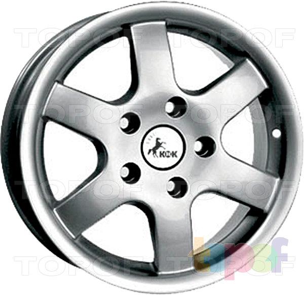 Колесные диски КиК Фаворит. Изображение модели #1