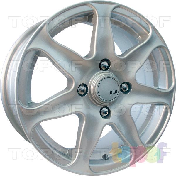 Колесные диски КиК Флагман. Изображение модели #1