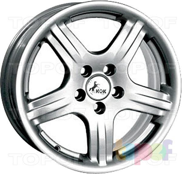 Колесные диски КиК Фора-спорт. Изображение модели #2