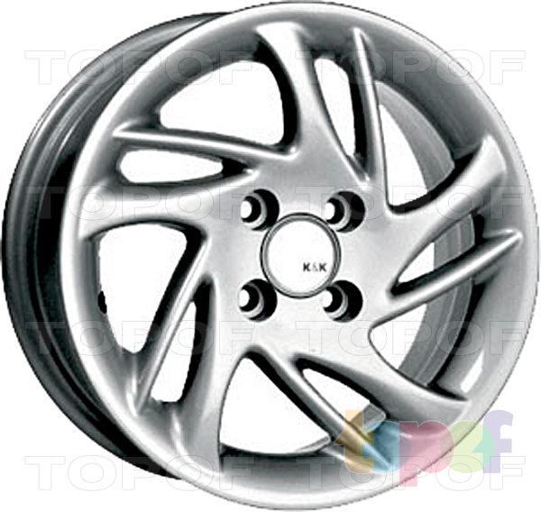 Колесные диски КиК Фортуна. Изображение модели #1