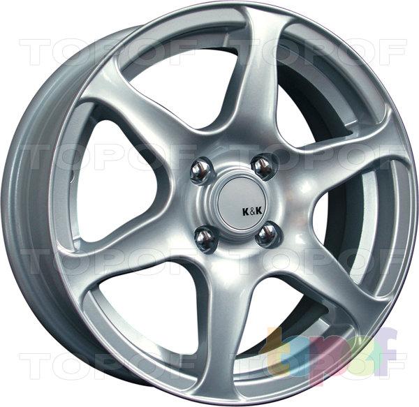 Колесные диски КиК Форвард-форс. Изображение модели #1