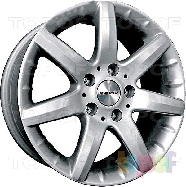 Колесные диски КиК Галеон. Изображение модели #2