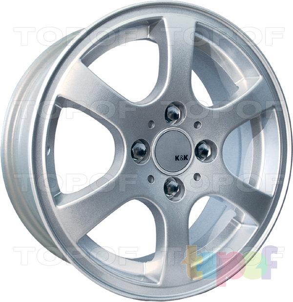 Колесные диски КиК Гамма. Изображение модели #1