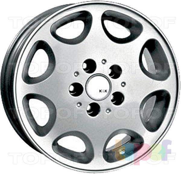 Колесные диски КиК Ирбис. Изображение модели #1
