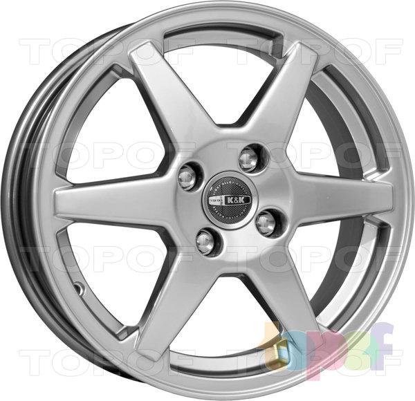 Колесные диски КиК Ирис. Изображение модели #1