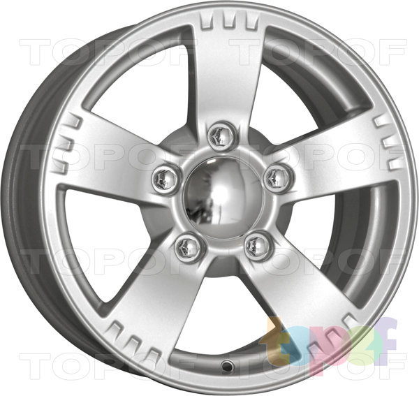 Колесные диски КиК Камелот. Сильвер