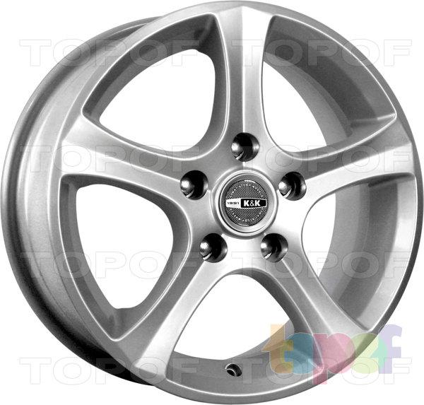Колесные диски КиК Каньон. Изображение модели #1