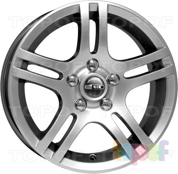 Колесные диски КиК Канкан. Изображение модели #2