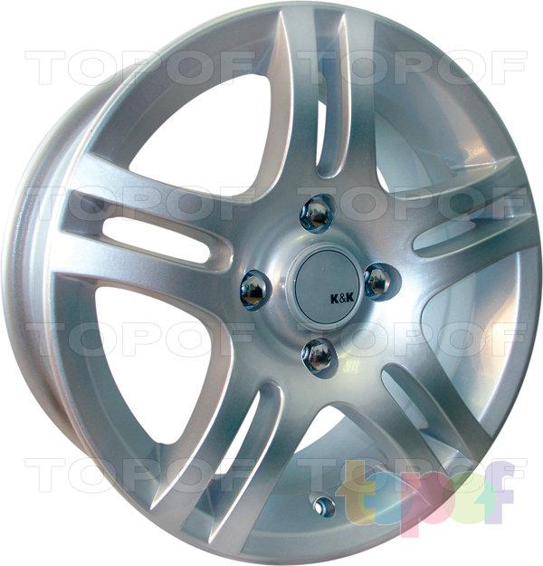 Колесные диски КиК Канкан. Изображение модели #3