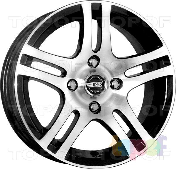 Колесные диски КиК Канкан. Изображение модели #4