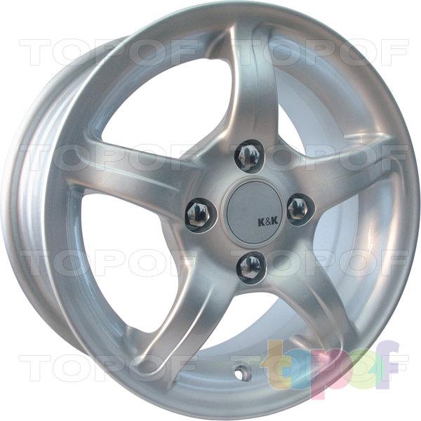 Колесные диски КиК Капелла. Изображение модели #1