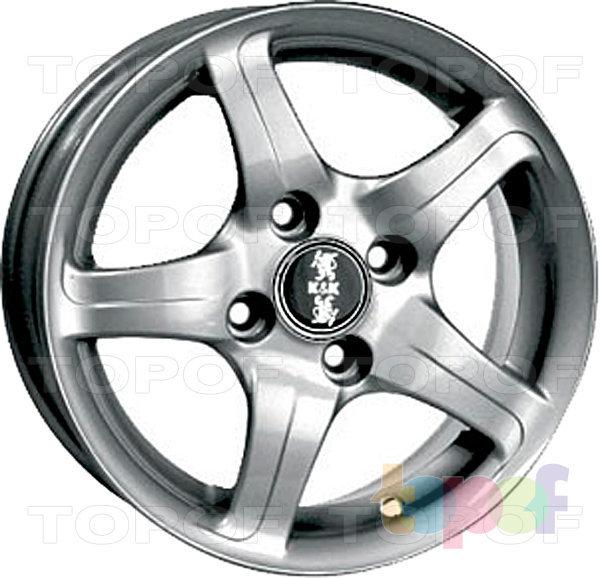 Колесные диски КиК Капелла. Изображение модели #2