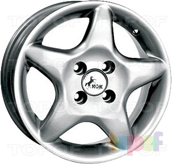 Колесные диски КиК Каприз. Изображение модели #1