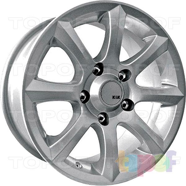 Колесные диски КиК Каре. Изображение модели #2