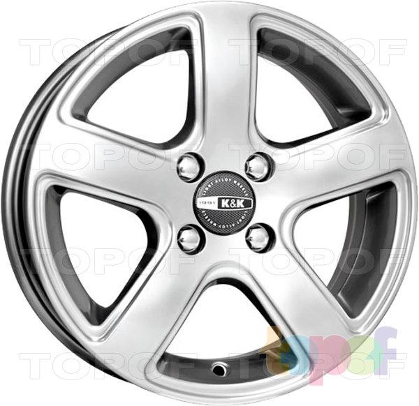 Колесные диски КиК Кармен. Изображение модели #1
