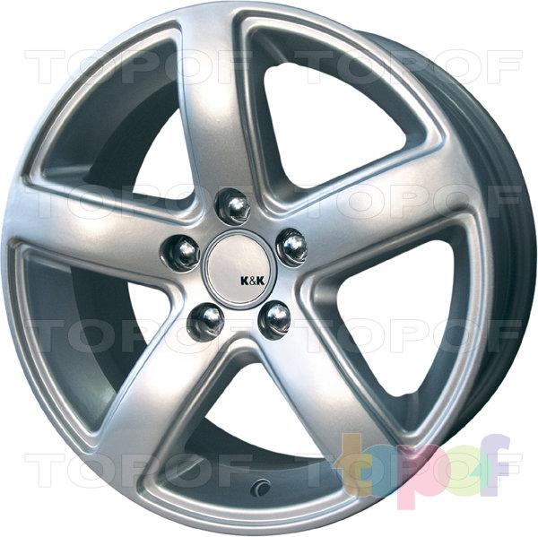 Колесные диски КиК Кармен. Изображение модели #2