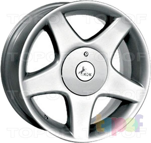 Колесные диски КиК Конкорд. Изображение модели #1
