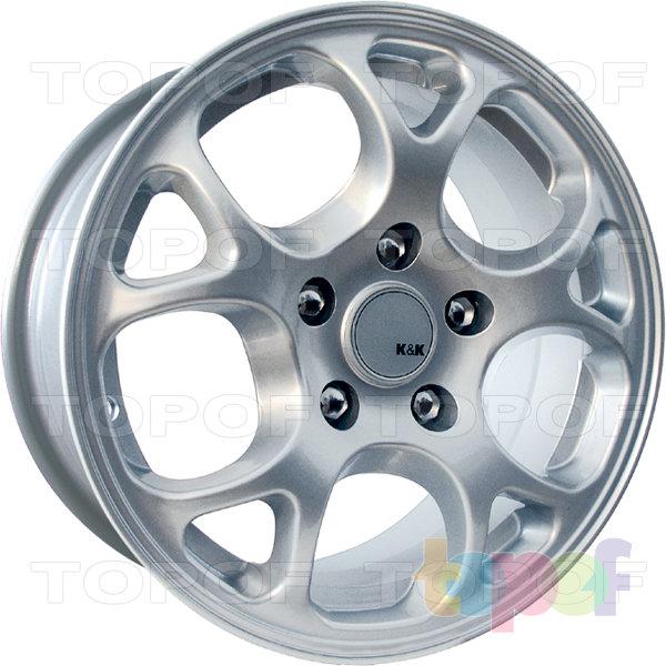 Колесные диски КиК Корнет. Изображение модели #1