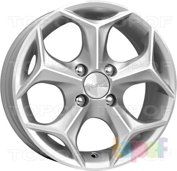 Колесные диски КиК Кристалл. Сильвер