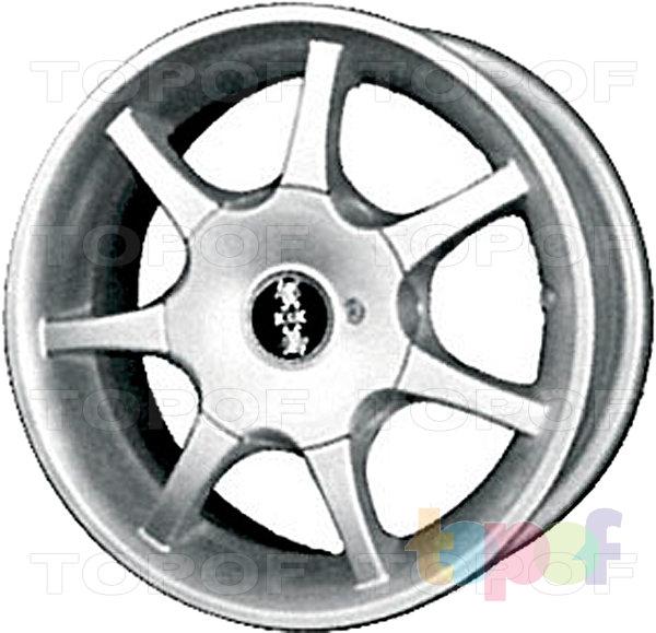 Колесные диски КиК Лидика. Изображение модели #2
