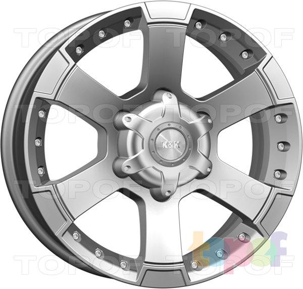 Колесные диски КиК M56. Изображение модели #1
