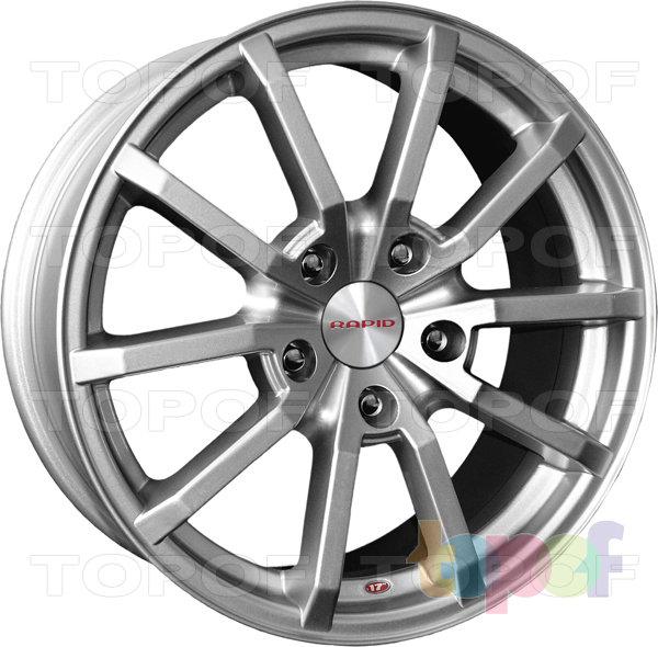 Колесные диски КиК Мираж. Изображение модели #1