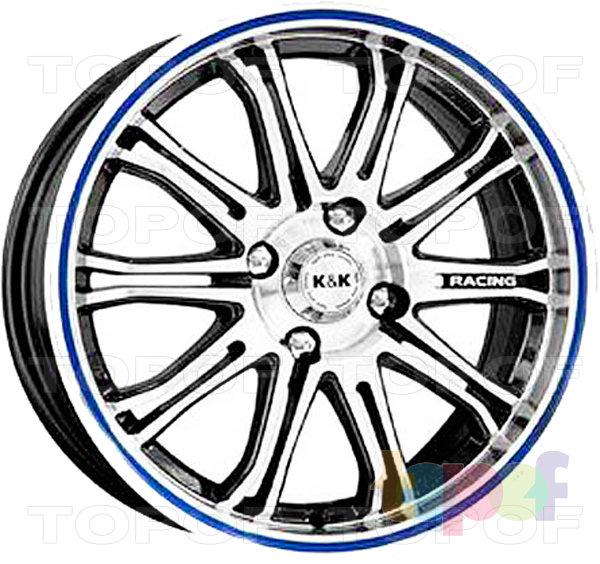 Колесные диски КиК Монца. Изображение модели #1